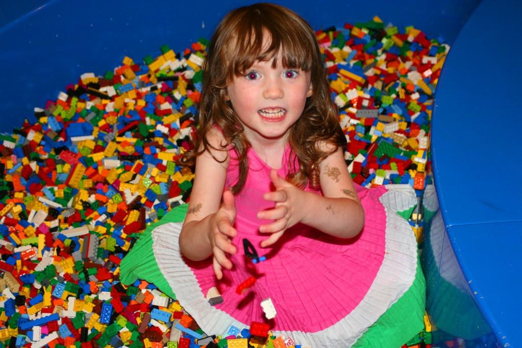 Piles of LEGOs