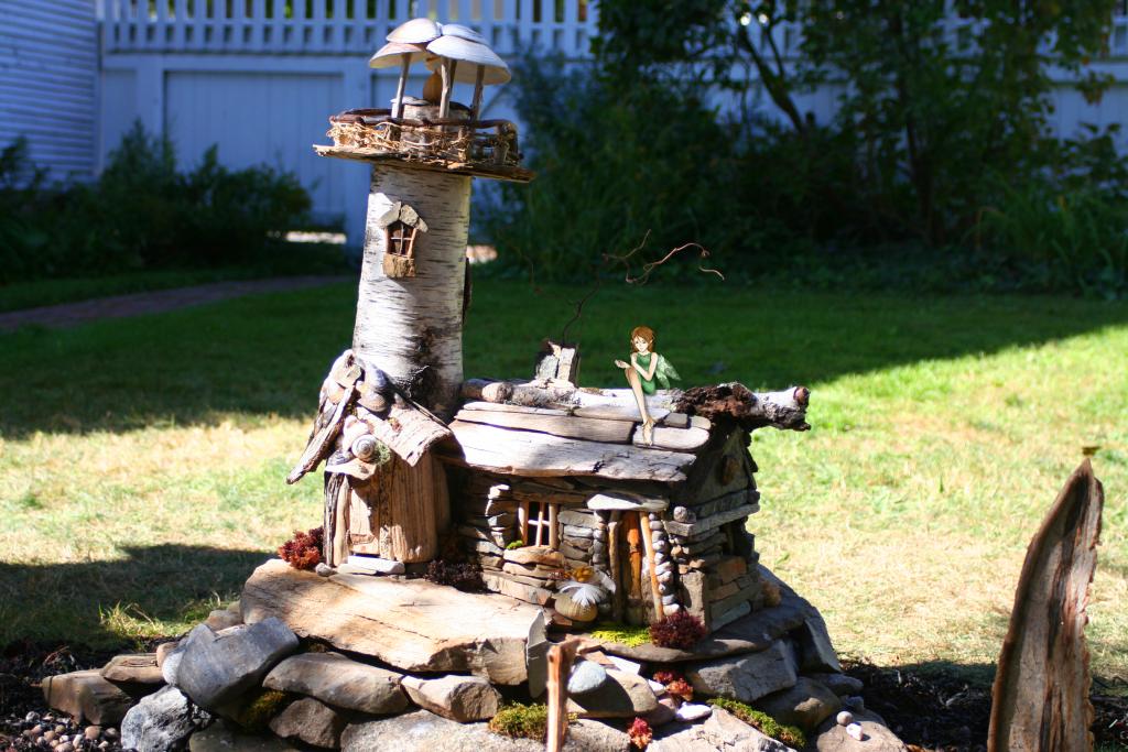 Fairy House 6 Lighthouse