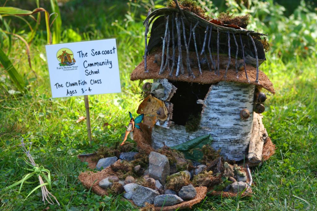 Fairy House Leaning Fairy