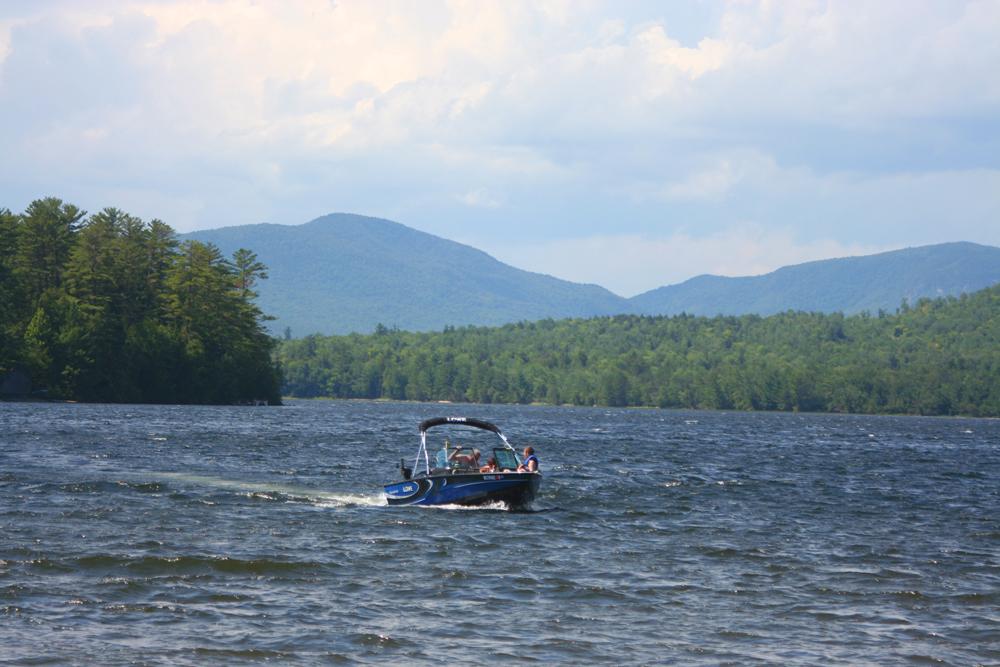 Ellis Pond Boating