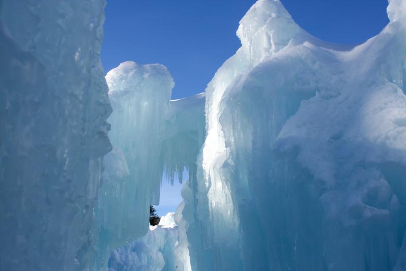 New Hampshire Ice Castles 1